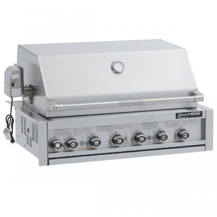 26 Built In Gas Grill Insert ~ Grand turbo quot built in barbecue gas grill the