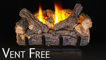 Vent Free Gas Logs · Contemporary Gas Logs. The Fireplace ...