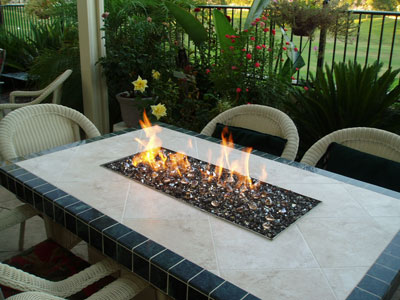 Today S Modern Outdoor Fire Pits Amp Fire Tables The