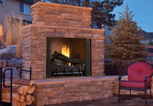 Superior Gas Outdoor Vent Free Fireplace VRE6000